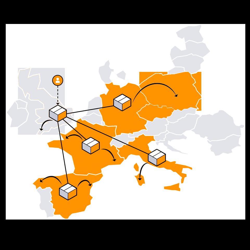amazon fba pan european landen 2021